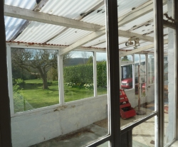 Time to replace the 1960s rear conservatory.