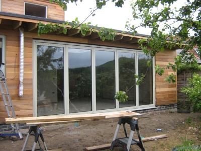 New Wave windows:  like a bi-fold, but not a bi-fold