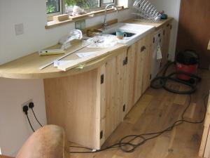 Kitchen going in 1